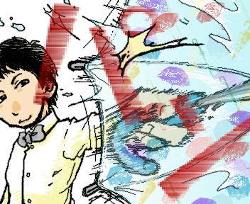 ノンスタ石田さんは、しょっちゅう髪型変えてて描くのに困る・・・
