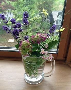 かわいい庭のお花たち^^
