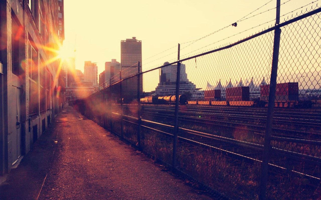 夕日を追いかけて