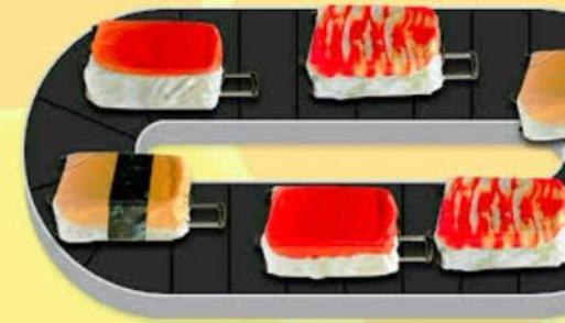 回転寿司スーツケースカバー03