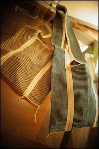 手紡ぎバッグ