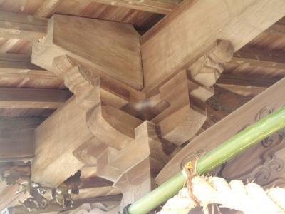 日本 木組み