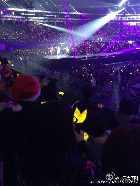 2014.12.25 K-POP ビッグバン 東京ドーム公演