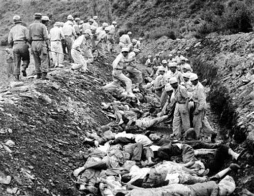 韓国の自国民虐殺