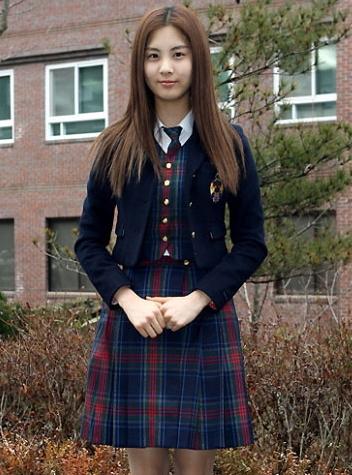 韓国女子高生制服