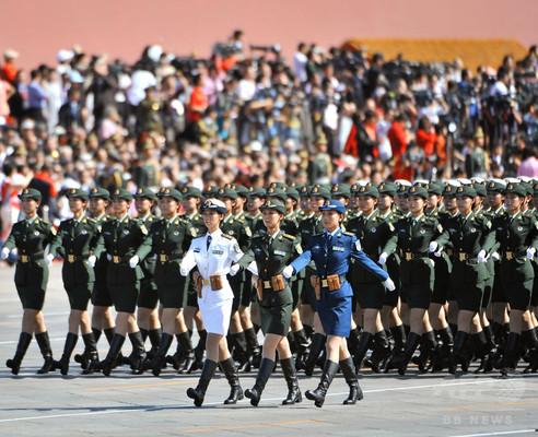 中国女性兵士