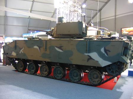 水陸両用歩兵戦闘車K-21 水漏れ 浸水