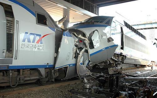 KTX 事故 正面衝突