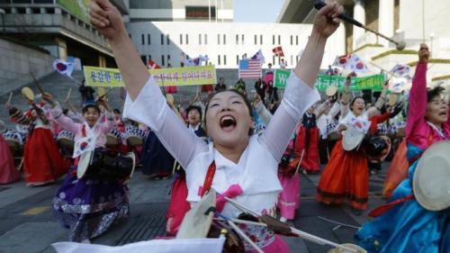 駐韓米国大使回復祈願1