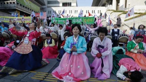 駐韓米国大使回復祈願