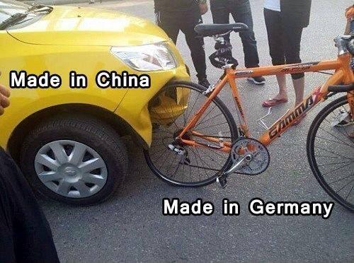 シナ中国車VSドイツ