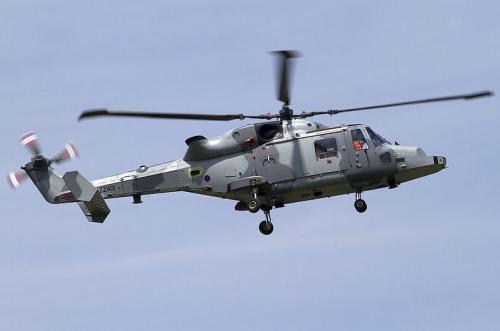 英国ヘリ ワイルドキャット