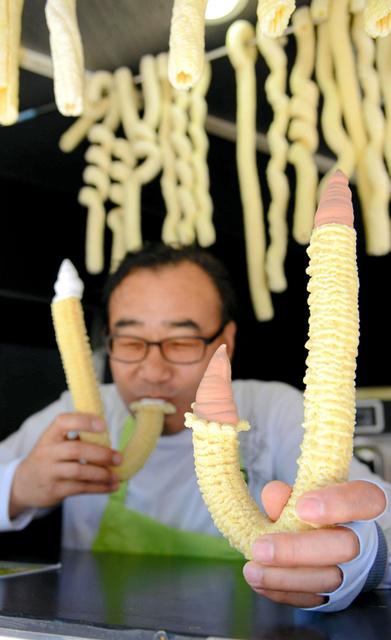 韓国アイス 杖