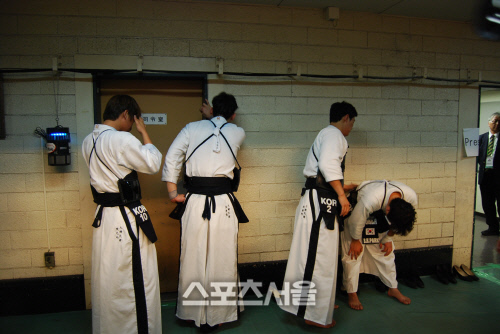 剣道世界大会 韓国人選手 泣きわめく