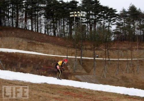 平昌 スキー場 雪
