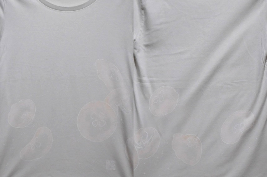 手描きTシャツ クラゲ