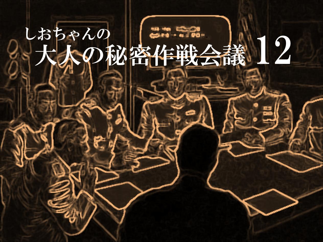 大人の秘密作戦会議12
