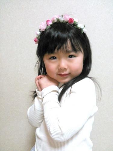 handmade hair ribbon rose カチューム ヘアバンド ballet バレエ バレエ用品 手作り かわいい 2