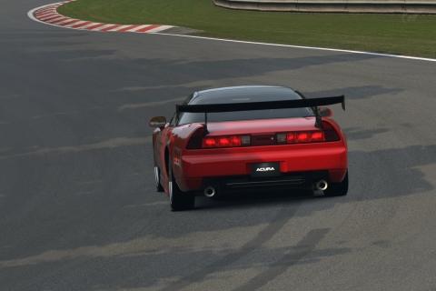 GT6で頭文字D北条豪風NSX(アキュラNA1)