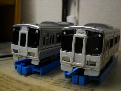 改造プラレールJR西日本223系5000番台
