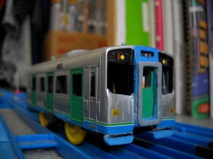 改造プラレールJR四国1500系(近畿車両モデル)