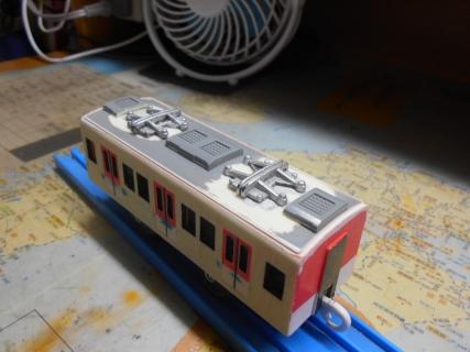 改造プラレール 近鉄の通勤型(2050系)を作る!その2