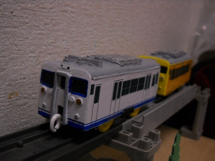 改造プラレールJR西123系