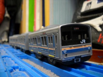改造プラレール205系0番台阪和線体質改善