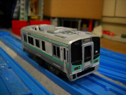 改造プラレールJR西日本125系