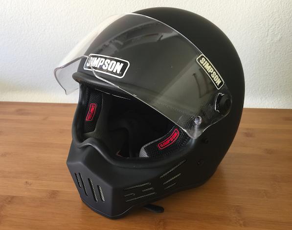 simpson m30ヘルメット