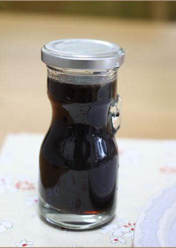 黒豆蜜プリン (2)