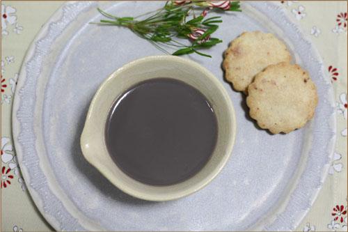 黒豆蜜プリン (3)