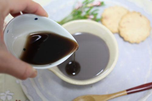 黒豆蜜プリン (4)