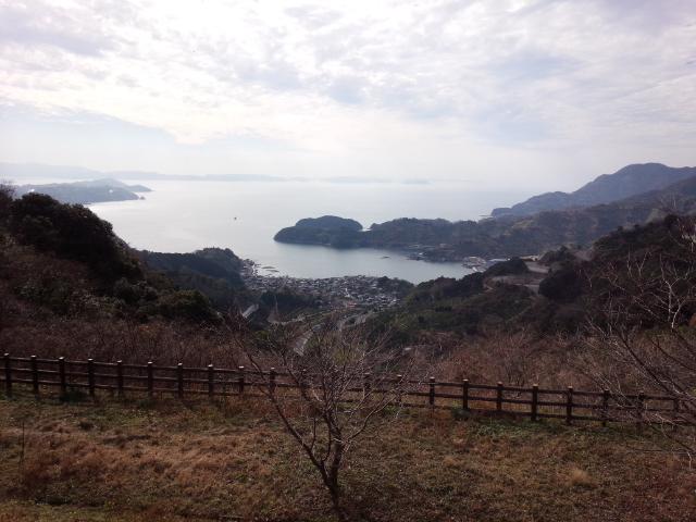 20150118_③野福峠から望む法華津湾