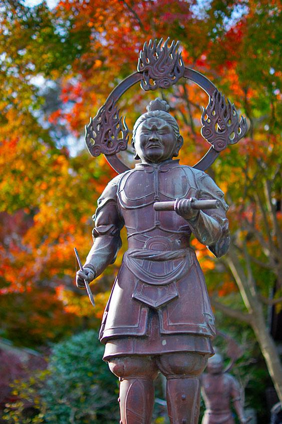 141207鎌倉長谷寺の紅葉4
