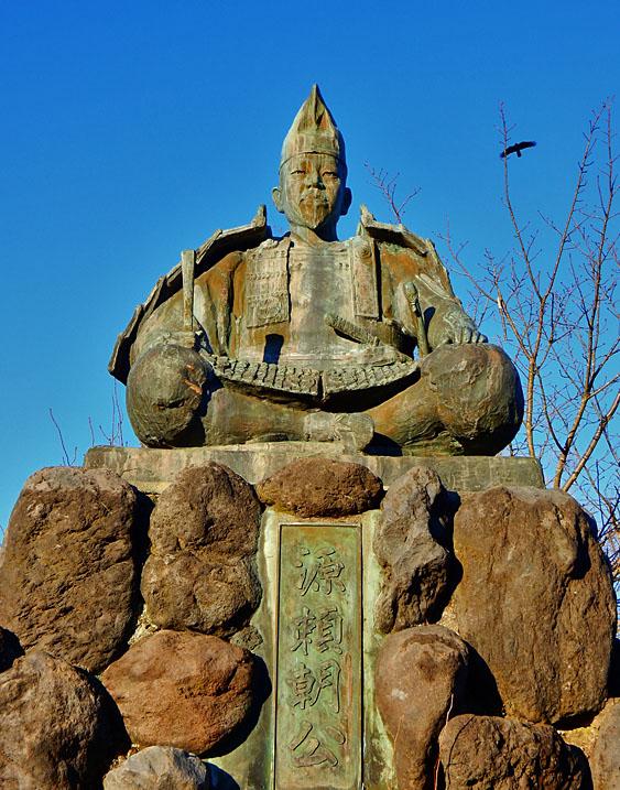 141213 源氏山公園の頼朝像3