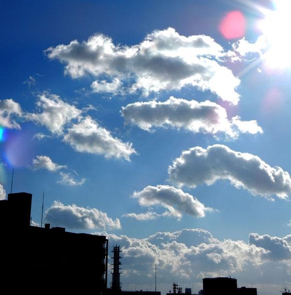 1月1日の空