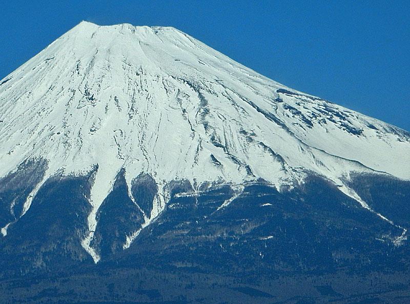 富士川鉄橋からの富士山2