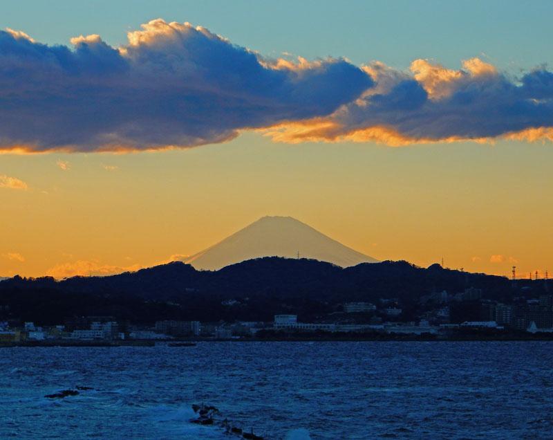 150131走水からの富士山2