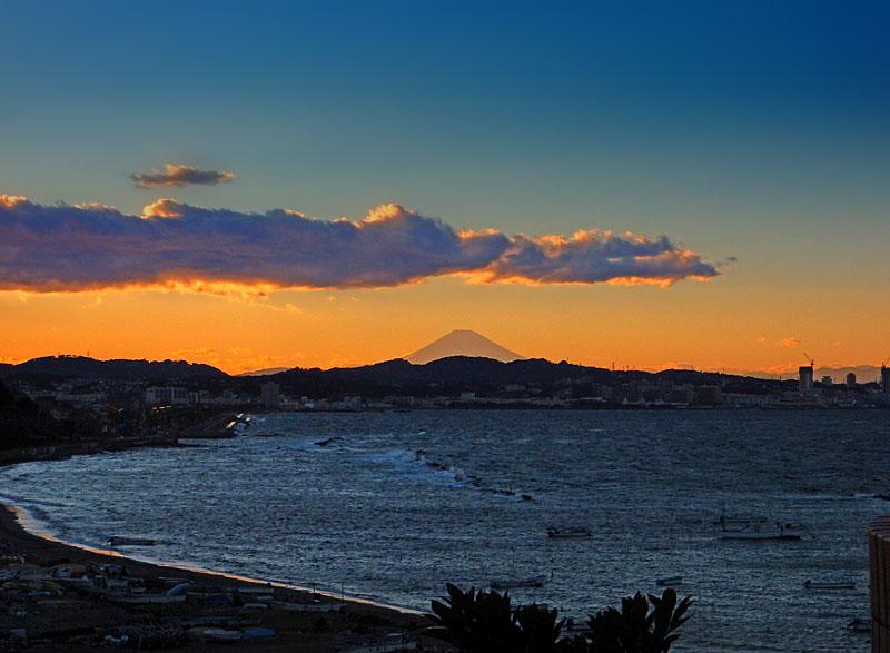 150131走水からの富士山1