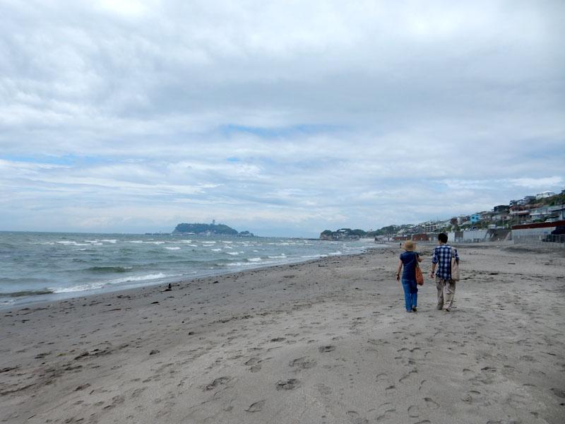 150504大潮の日江の島へ渡る1