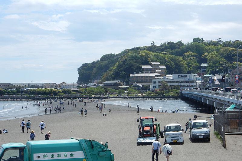 150504大潮の日江の島へ渡る2