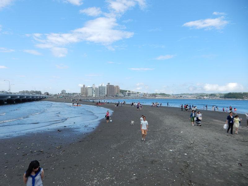 150504大潮の日江の島へ渡る4