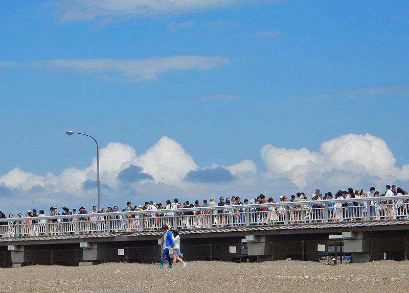 150504大潮の日江の島へ渡る7