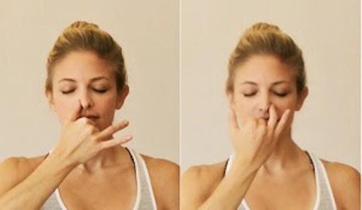 ヨガの呼吸法 図