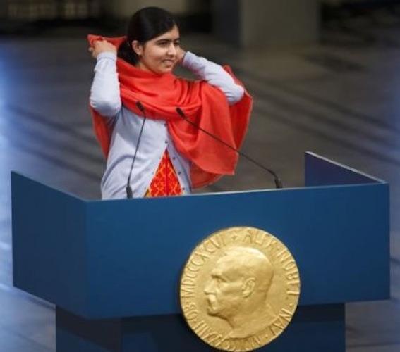 ノーベル賞スピーチ マララ