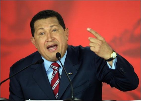 チャベス大統領 図