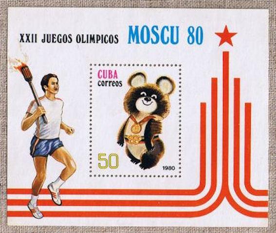 モスクワオリンピック 図