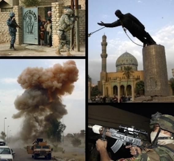 イラク戦争 図