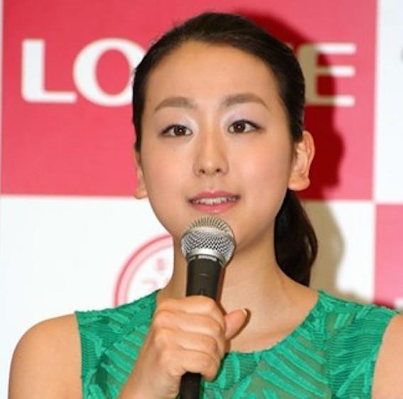 休養宣言の浅田真央 写真